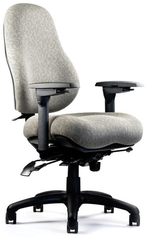 Neutral Posture NPS8600 Chair, High Back, Medium Seat, Mod. Contour