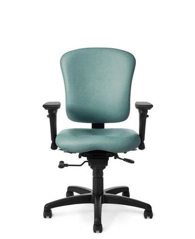 Office Master PA66 Patriot Mid Back Full-Function Ergonomic Task Chair