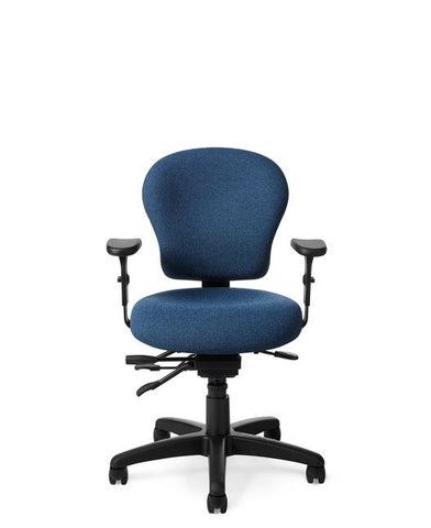 Office Master PC53 Multi-Function Small Petite Ergonomic Task Chair