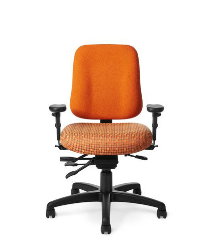 Office Master PT72N Paramount Low Back Ergonomic Task Chair