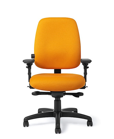 Office Master PT78-RV Paramount Mid-Back Adj. Lumbar Ergo Task Chair