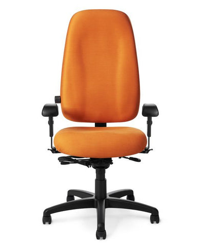 Office Master PT79 Paramount High Back Adj. Lumbar Ergo Task Chair