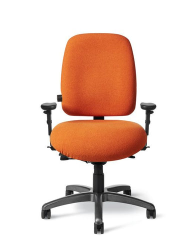 Office Master PTYM Paramount Mid-Back Tall Adj. Lumbar Ergo Chair