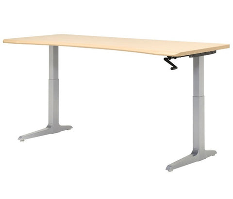 Workrite Sierra HXL Crank Height Adjustable Desk