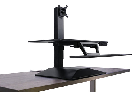 Workrite SOL-E-DT-B Solace Electric Sit-Stand Desk Converter
