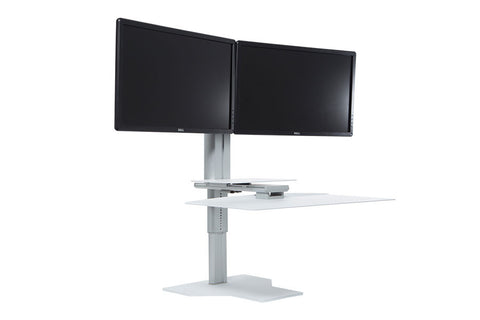 Uprite Ergo Dual Monitor Sit2Stand Workstation