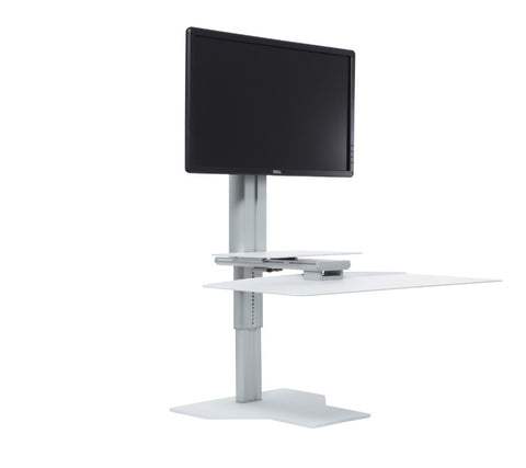 Uprite Ergo Single Monitor Sit2Stand Workstation