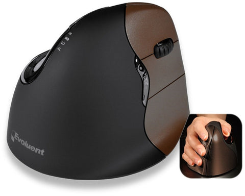 Evoluent Vertical Mouse 4 WIRELESS SMALL-SIZE Right-Handed