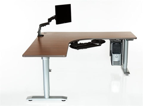 Populas Vox Perfect Corner Height Adjustable Electric Sit-Stand Desk