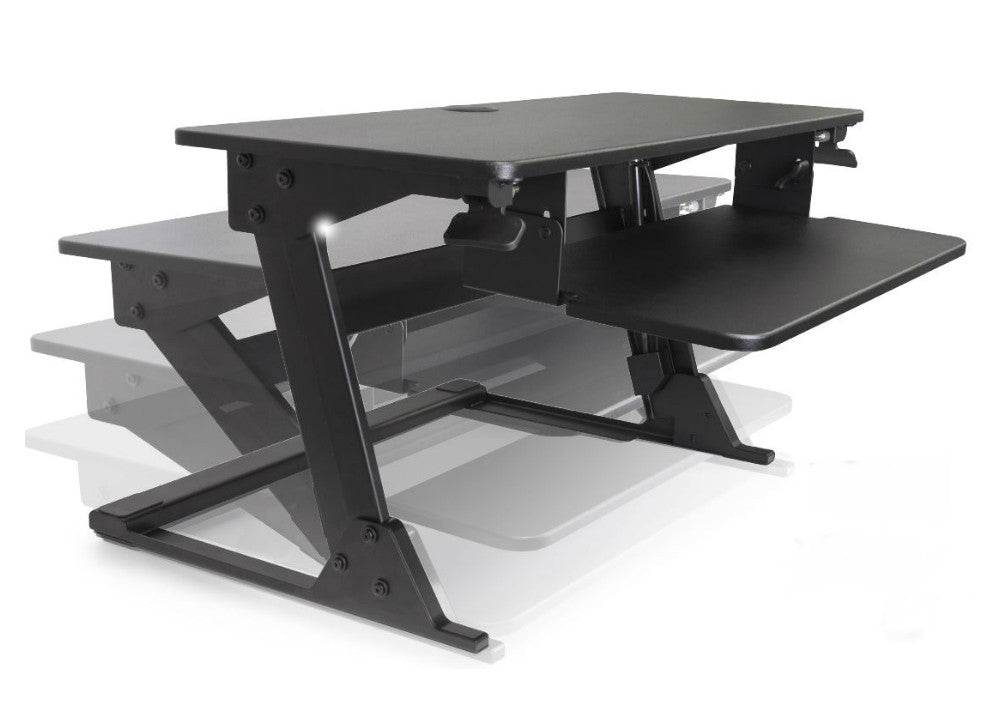 Volante Desktop Sit Stand Workstation Ergo Experts