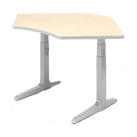 Workrite Sierra Equal Corner 2-Leg Electric Height Adjustable Desk