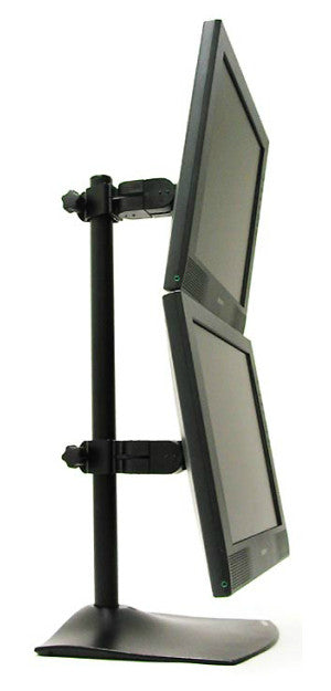 Ergotron Ds100 Vertical Dual Monitor Desk Stand 33 091 200
