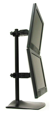 Ergotron DS100 Vertical Dual-Monitor Desk Stand 33-091-200