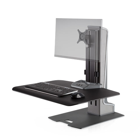 Innovative Winston-E Single Electric Desktop Sit-Stand Workstation