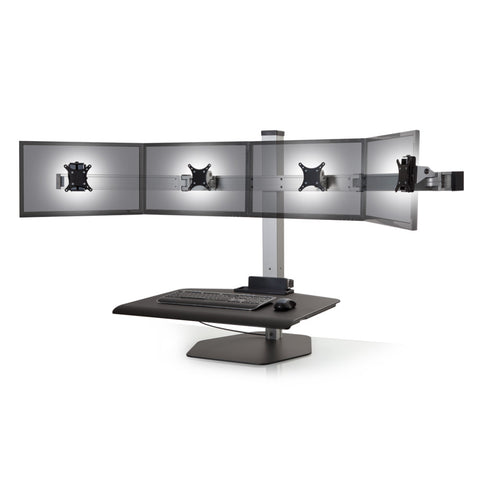 Innovative Winston QUAD Monitor Desktop Sit-Stand Workstation