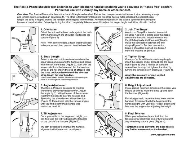 Instructions Rest A Phone