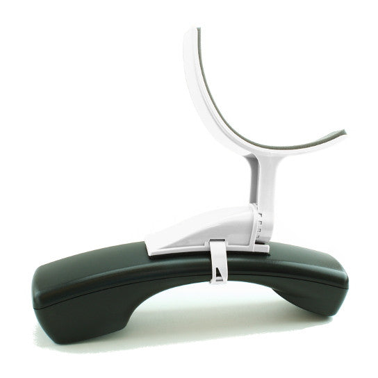 Phone Shoulder Rest in White
