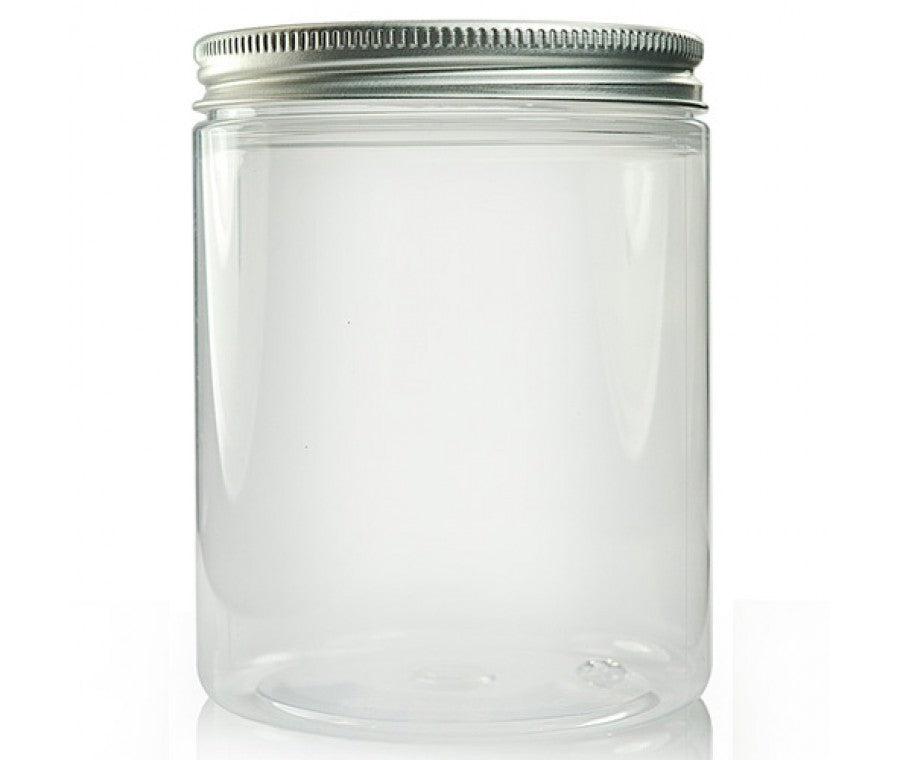 [PO] [WW] 10pcs Plastic Jar Container with Black/Gold/Sliver Lid (300ml)