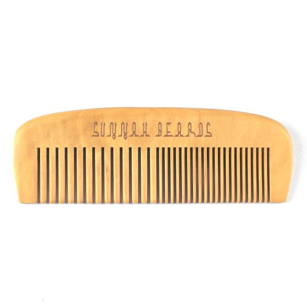 Wide & Fine Tooth Beard Comb