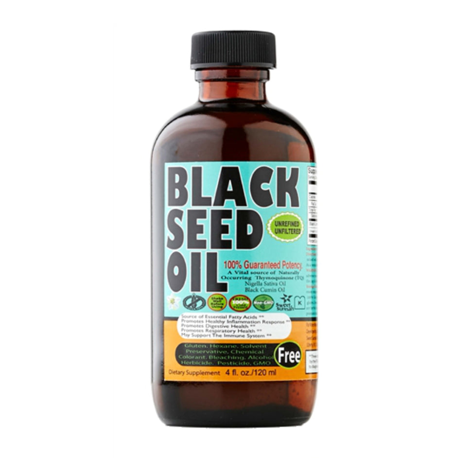 4oz. Black Seed Oil