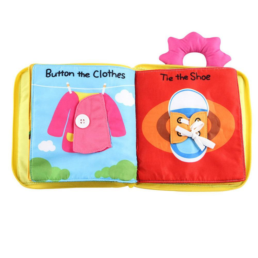 Cloth Learning Book - Below 3 Years Old Kids