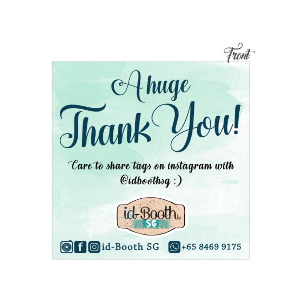THANK YOU CARDS (50PCS)