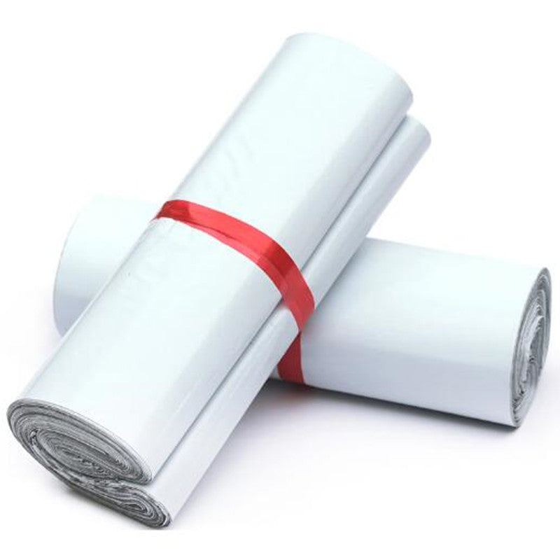 10pcs White Poly Mailers (2 Sizes)