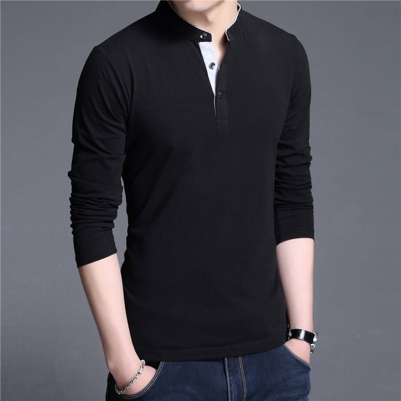 Black Collar T-Shirt