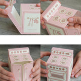 Pink Vintage Oven Boxes