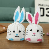10pcs Pink Rabbit Ears Bags