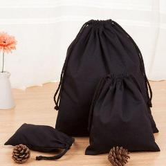[PO] [WW] 50pcs Black Cotton Pouches