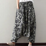 (W) Floral Patterns Trousers