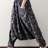 Floral Patterns Trousers