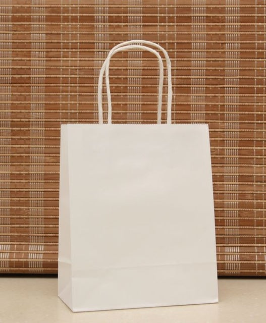 (M) Kraft Paper Bags with Handle
