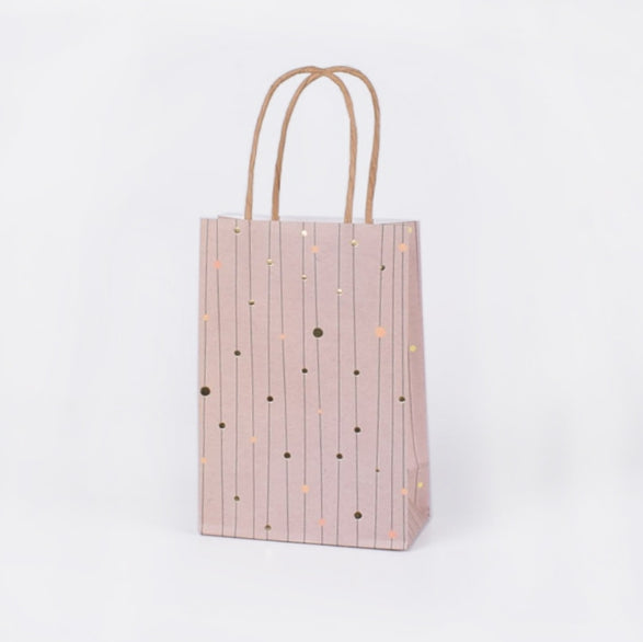 (S) Golden Dots Bags with Handle