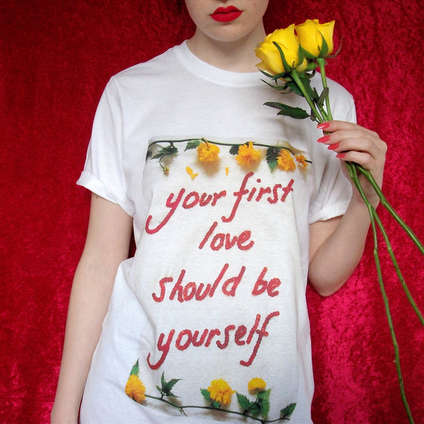 Your First Love Should Be Yourself Shirt Ripped Off by Missy Empire?
