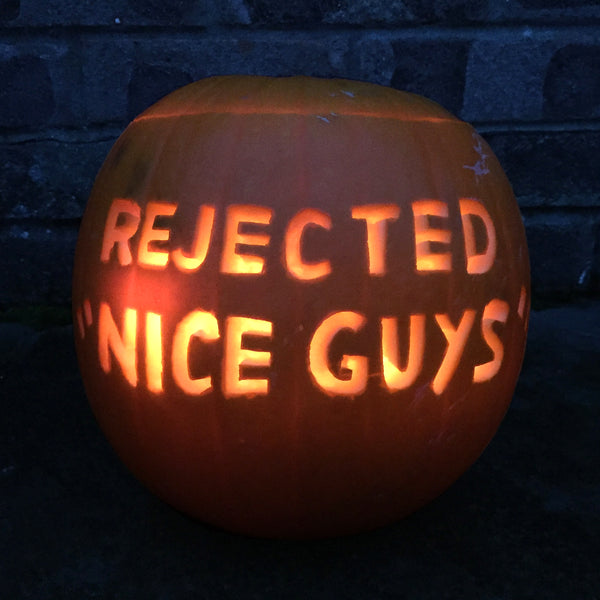 Rejected Nice Guys Pumpkin
