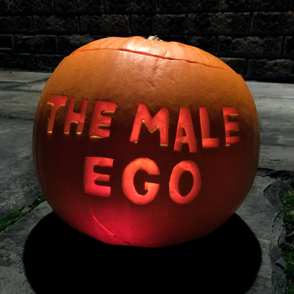 The Male Ego Pumpkin
