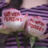 Never forgive, Always Forget (print)