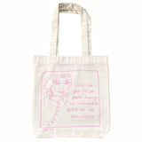 Sorry I've got to go you're having an undesirable effect on my emotions (tote bag)