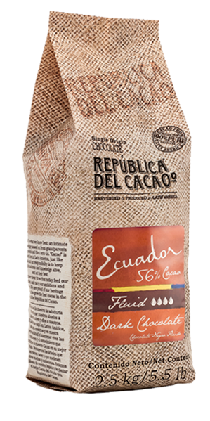 Dark Chocolate <br>Ecuador 56% Fluid