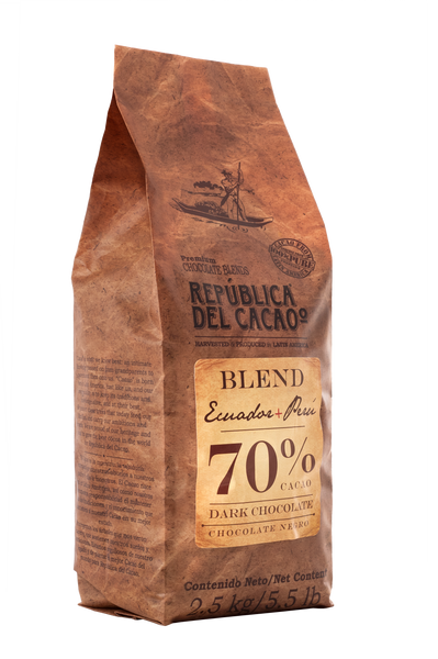 Dark Chocolate <br>Blend Ecuador+Peru 70%