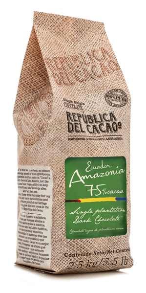 Dark Chocolate <br> Ecuador Amazonia 75%