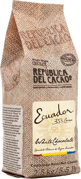 White Chocolate<br>Ecuador 35%