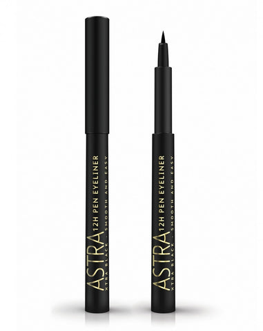 Astra 12H Pen Eyeliner Extra Black - RossoLaccaStore