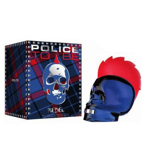 POLICE TO BE REBEL EAU DE TOILETTE FOR MAN 40 ML - RossoLaccaStore