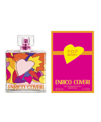 ENRICO COVERI POP HEART EAU DE PARFUM for HER 100 ML - RossoLaccaStore
