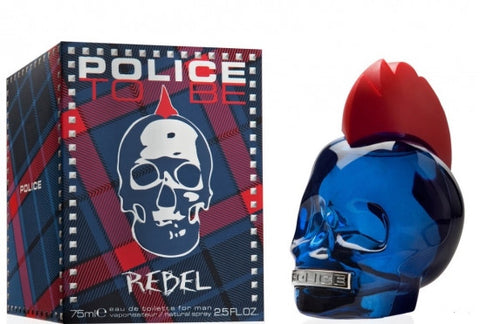 POLICE TO BE REBEL EAU DE TOILETTE FOR MAN 75 ML - RossoLaccaStore