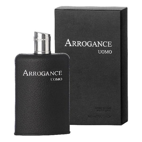 Arrogance Uomo After Shave 100 ml Vapo - new pack - Outlet Price - RossoLaccaStore