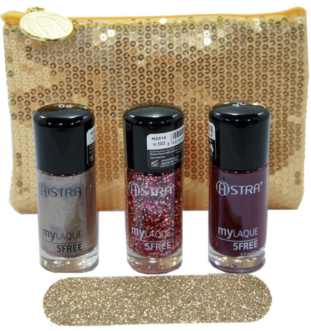 Astra Nails Dream Red Gift Set - RossoLaccaStore